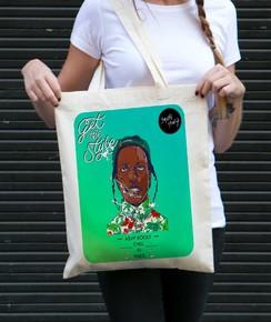 Tote Bag A$AP Rocky par Smiling Paris