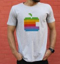 T-shirt à col rond Logo Apple 1997