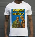 T-shirt à col rond David Starsky & Kenneth Hutch