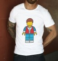 T-shirt à col rond Marty Lego