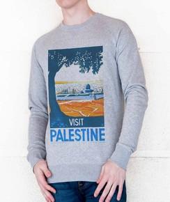 Sweat à col rond Visit Palestine