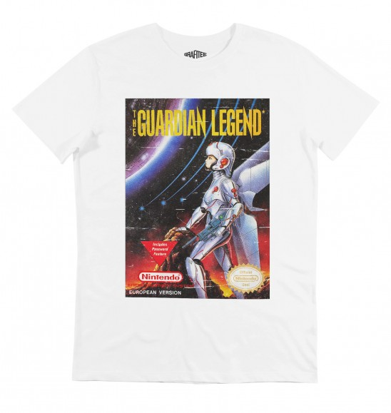 T-shirt pour Homme The Guardian Legend de couleur Blanc