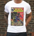 T-shirt à col rond Kendrick vs. Black Panther par Ads Libitum