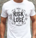 T-shirt à col rond Take The Risk par Snevi