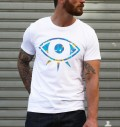 T-shirt à col rond Eye par Daydreamer