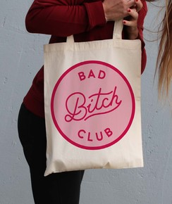 Tote Bag Bad Bitch Club de la marque GRL PWR