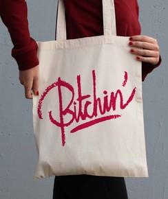 Tote Bag Bitchin' par GRL PWR