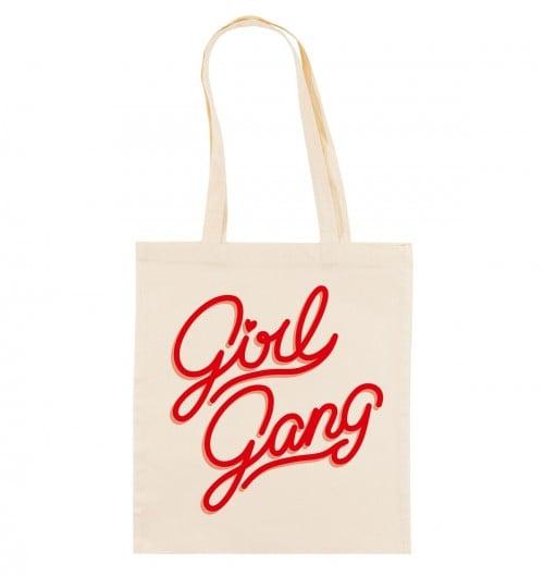 Tote Bag pour Femme Girl Gang de couleur Crème
