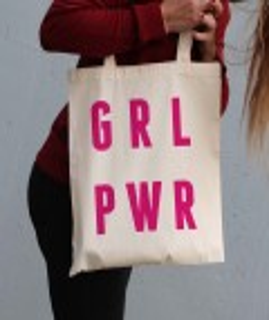 Tote Bag Grl Pwr de la marque GRL PWR