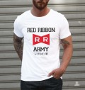 T-shirt à col rond Red Ribbon Army