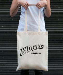 Tote Bag Bad Girls From Mars par GRL PWR
