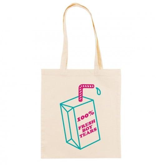Tote Bag pour Femme Fresh Boy Tears de couleur Crème