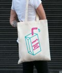 Tote Bag Fresh Boy Tears par GRL PWR