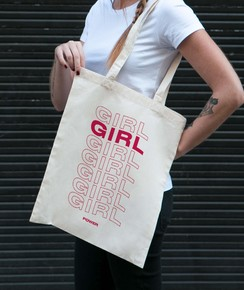 Tote Bag Girl Girl Girl Power par GRL PWR
