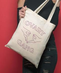 Tote Bag Ovary Gang de la marque GRL PWR
