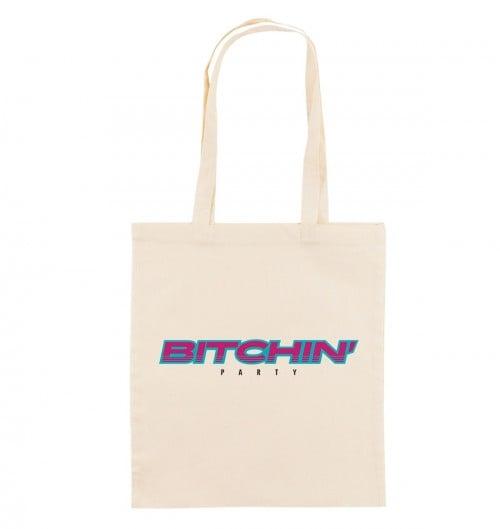 Tote Bag pour Femme Bitchin' Party de couleur Crème