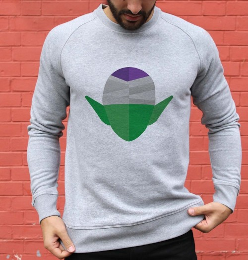 Sweat pour Homme Abstract Piccolo de couleur Gris chiné
