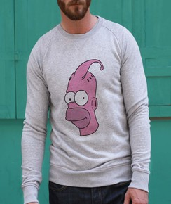 Sweat à col rond Homer vs Boo