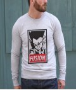 Sweat à col rond Gotenks Fusion