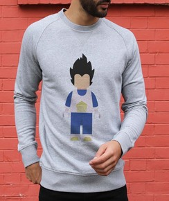 Sweat à col rond Lego Vegeta