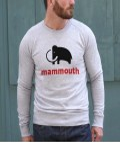 Sweat à col rond Mammouth