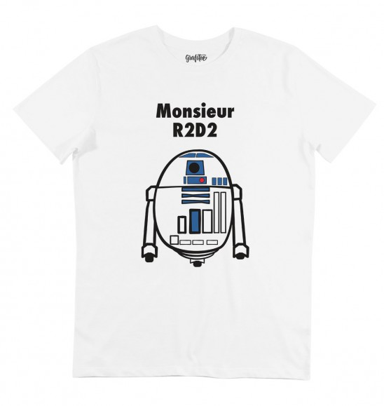 t shirt monsieur rd d2 tshirt monsieur madame x r2d2. Black Bedroom Furniture Sets. Home Design Ideas