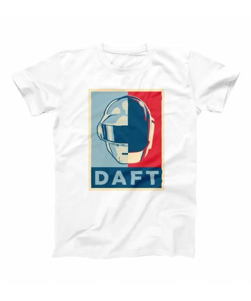 T-shirt pour Homme Daft Hope de couleur Blanc