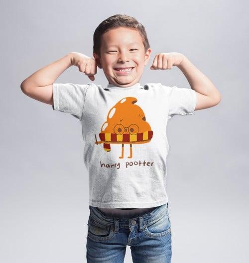 T-shirt pour Enfants Harry Pootter de couleur Blanc