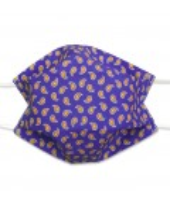 Masque motifs Paisley - Lavable Réutilisable