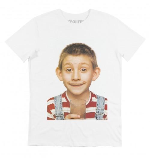 T-shirt pour Homme Dewey Milk (en promo) de couleur Blanc