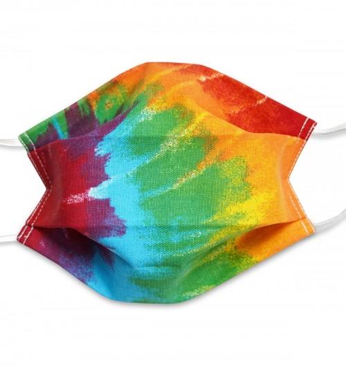 Masque Tie Dye - 3 plis - Taille unique