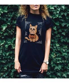 T-shirt à col rond Challoween par Douglasstencil