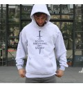 Hoodie You know nothing à col rond
