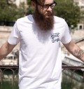 Détail T-shirt No More Bad Days Numérique