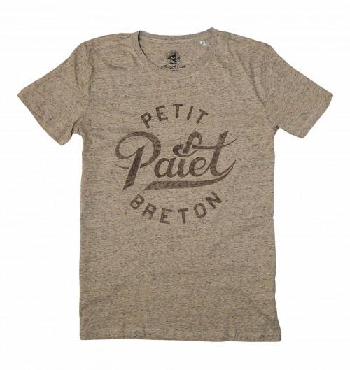 T-shirt pour Homme Petit Palet Breton de couleur Sable