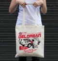 Tote Bag Delorean 100% coton