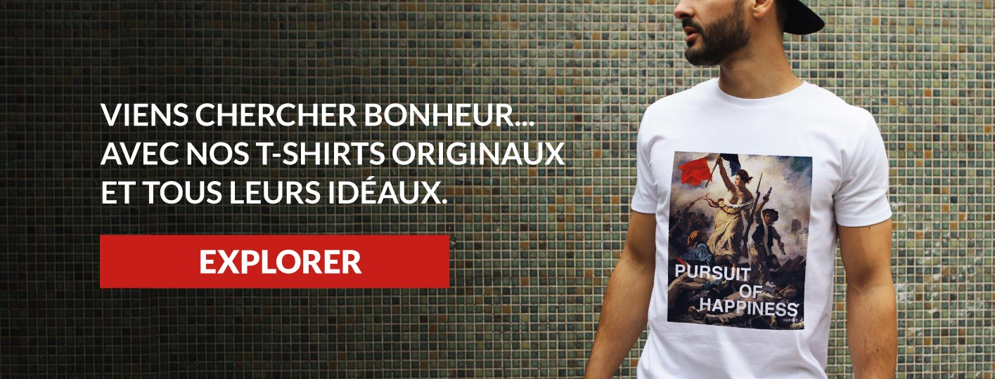 Notre collection de Tee-shirts